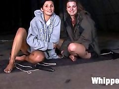 Maitresse Madeline and Lorelei Lee travel to the Czech Republic to test and recruit slutty slave...