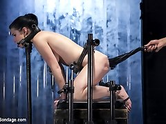 A dream of Verucas was to one day be a model on Device Bondage. She likes bondage. She like...