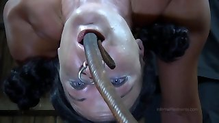 Slutty girl Becky takes off her sexy schoolgirl uniform in this raunchy cheerleader porn