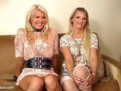 Two gorgeous busty rope bondage blondes get disgraced for your viewing pleasure. Watch these...