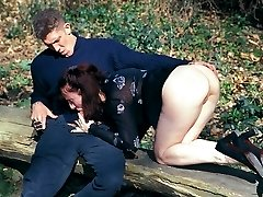 Bisexual swingers doing it at a dogging spot