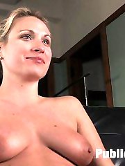 Several members requested that I get a girl in a nice business suit and take her to a dirty...
