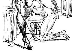 hentai femdom spanking