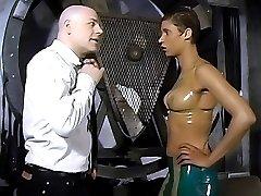 Horny hottie enjoys nipple play and erotic spanking