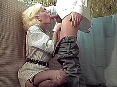 Al Brown, Sheri St. Clair, Billy Joe Fields in vintage sex movie