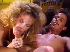 Debbie Areola, Erica Boyer, Nina Hartley in classic porn scene