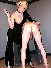 She loves to spank