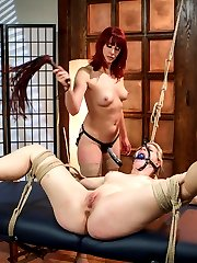 Newcomer Ella Nova gets destroyed in this high energy role play scenario about a massage...