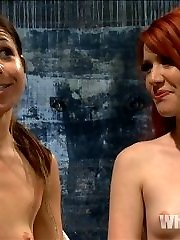 Welcome the all natural redheaded lesbian dominatrix, Elle Alexandra to Whipped Ass! Elle is an...