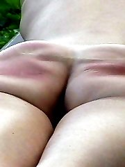 Naked lovely tied to a bench and caned ruthlessly on her blistered and bruised bare bottom