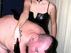 Fishnets and spankings