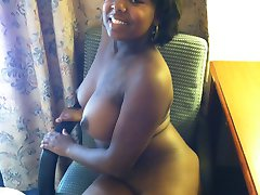 Fat and chubby black whore Kath has lot to show - really big tits and more bigger ass who needs...