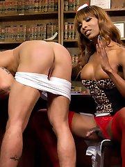 Dr. Jameson calls Nurse Natassia into his office because her wardrobe makes him uncomfortable....