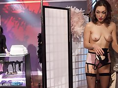 When trendy lingerie store owner,Veruca James catches hot chick Lily LaBeau shoplifting, she...