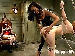 Calico returns to Whipped Ass to be dominated by Maitresse Madeline and Madelines new friend...