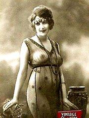 Several vintage ladies nude