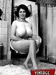 Big breasted vintage girls
