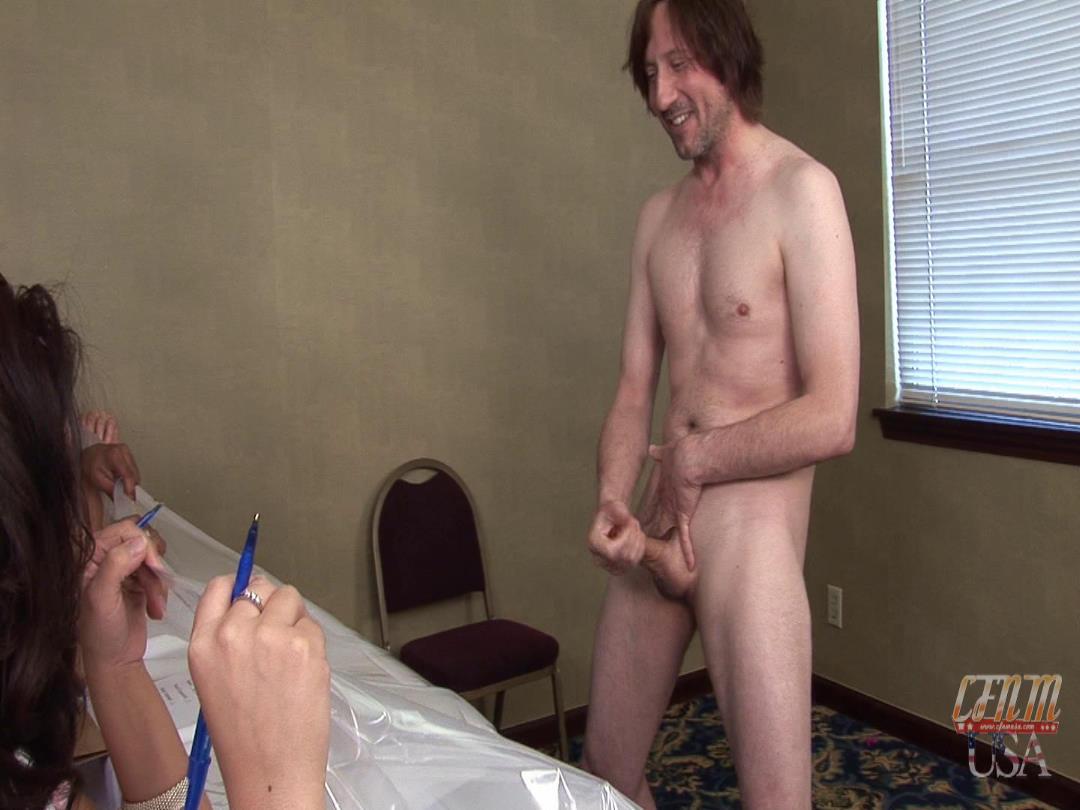 Cfnm masturbation contest