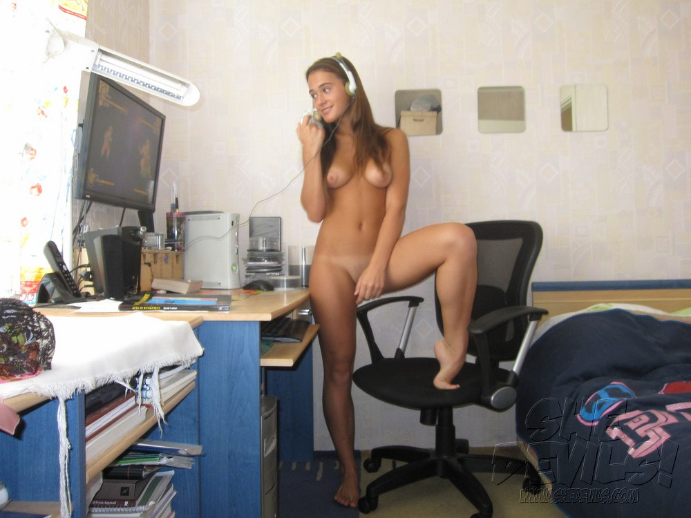 gamer girl sylvia nackt