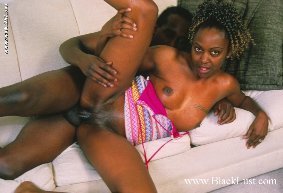 Teen Ebony Riding Dildo
