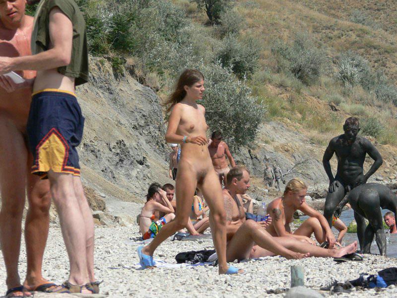 Sun Bathing Naked Public