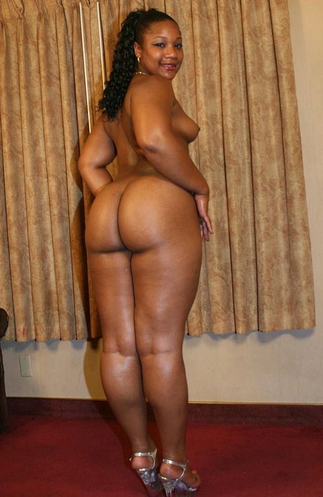 Thick Ebony Redbone Anal