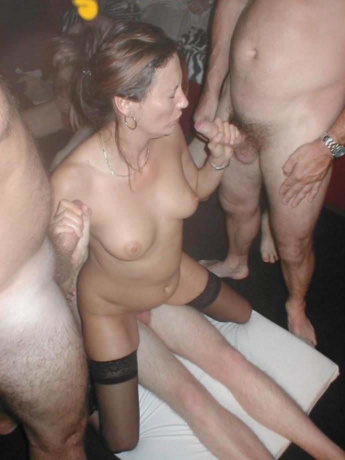 Amateur Bbw Swingers Party