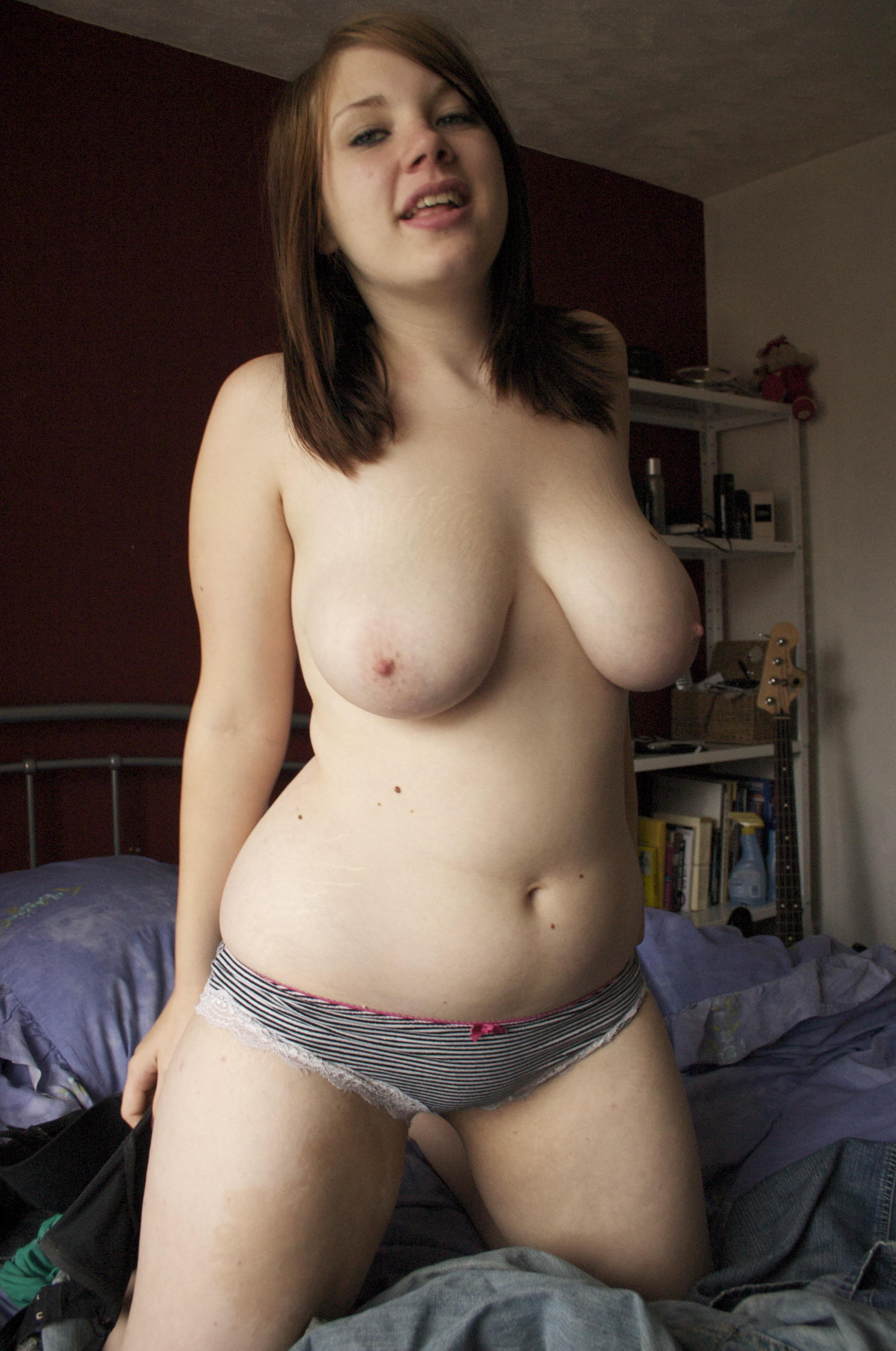 Teen Rubbing Pussy Cock