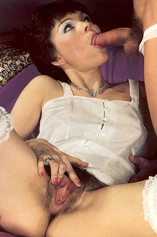 Hairy lady hungry for cock
