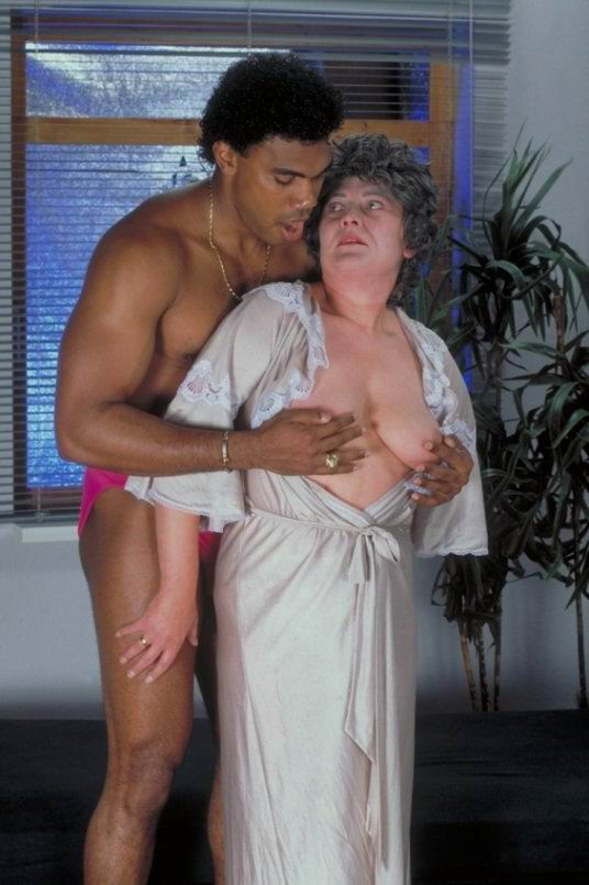 Old Black Granny Sucking Dick