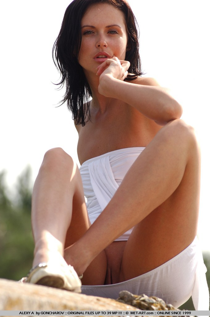 Alexy Is A Wise Little Russian Model Who Rests On The Nude Beaches