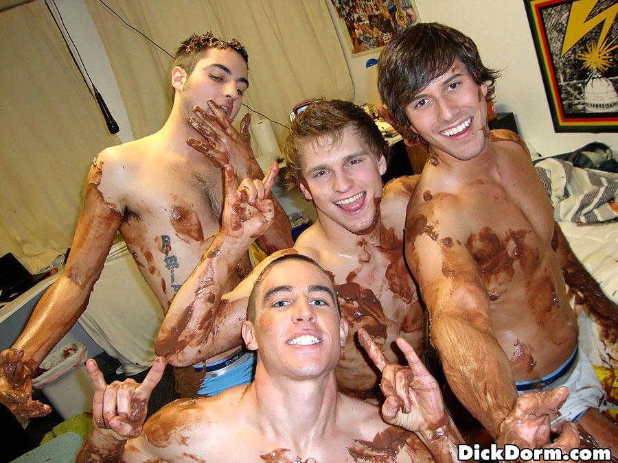 Dick dorm gay party fill