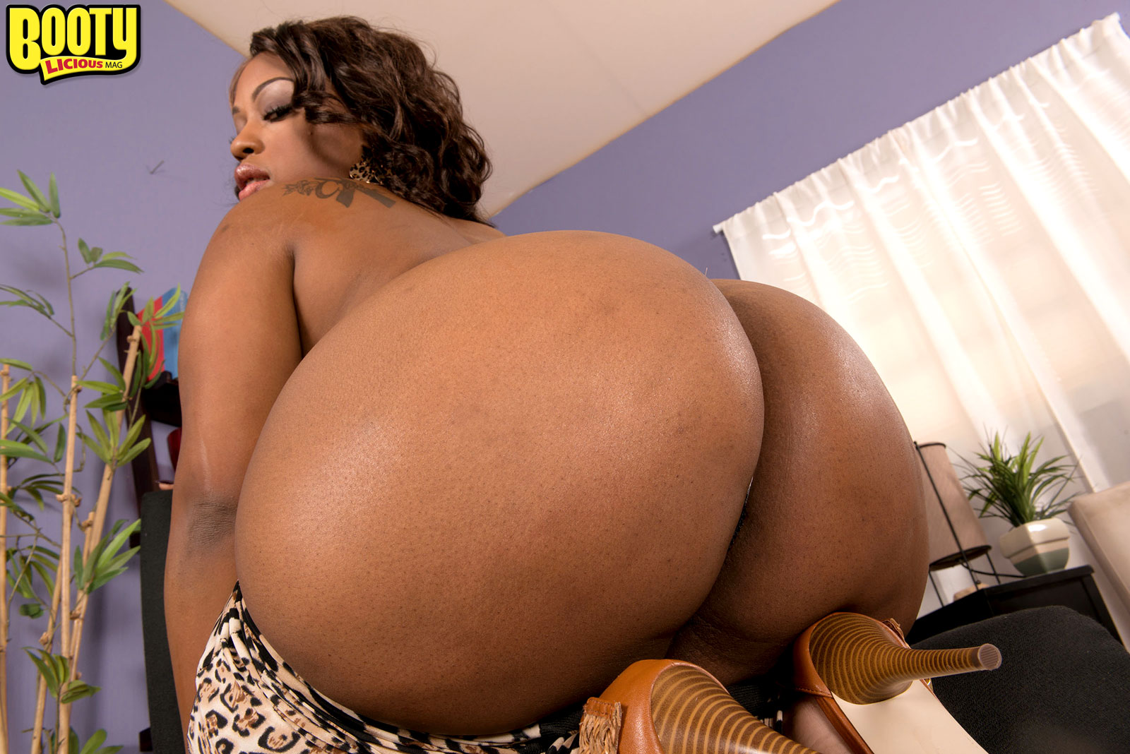 Big Booty Black Mom Fuck