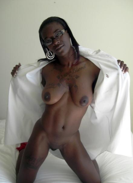Dark Skin Ebony Doggystyle