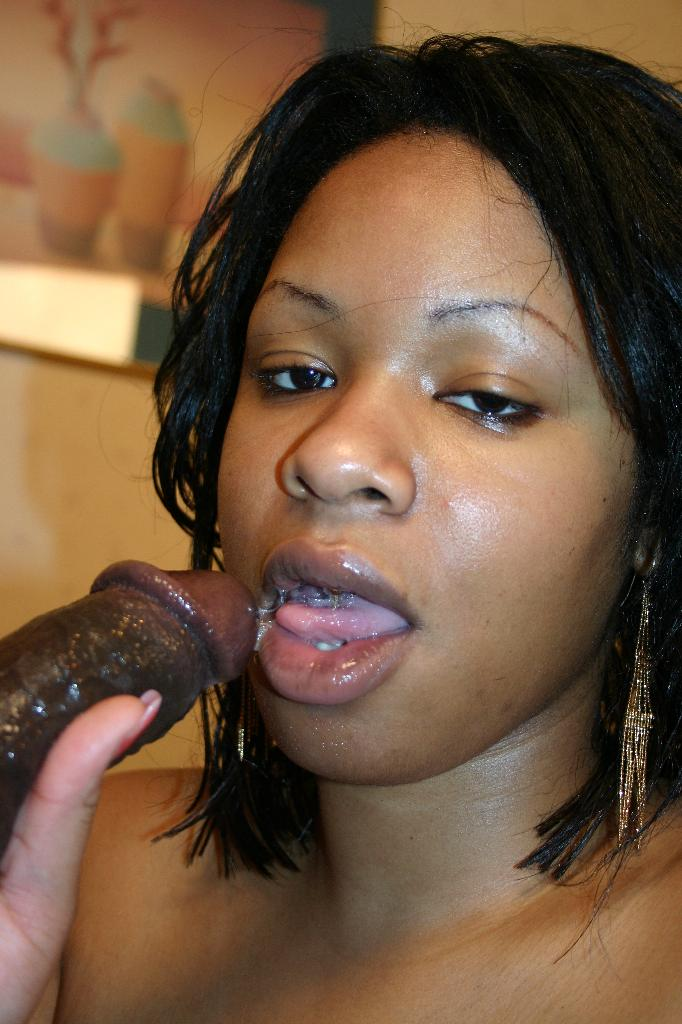 Black Dick Cum Inside Ebony