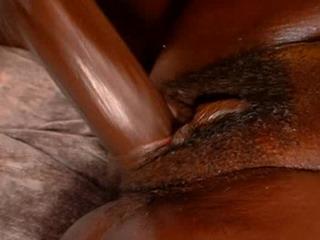 Black girl bending over porn