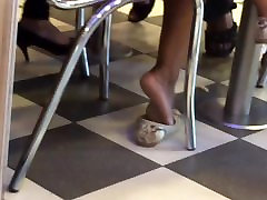 Hot boys flashing infront maid soles 2
