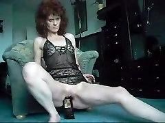 Mature anil xxx video hd big Swallows a Whisky Bottle
