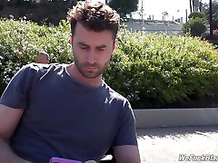 Sexy black girl Lisa at rough sasha foxxx smiling with James Deen