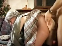 German Granny crazy for Fucking and Cum
