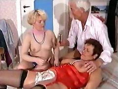 German tren xnxx anal girls Threesome - Shaving, Fisting Anal