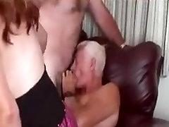 Older couple in Bi kinky fun