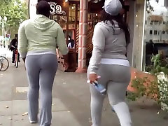 The Art of Candid Booty