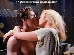 Dominique Saint Claire, George Payne in vintage sex movie