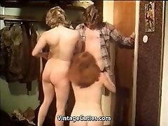 Matains hd porn big dick Meitenēm, Seksu Trijatā 1970 Vintage