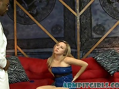 Interracial Blonde gqy milf Armpit son with own mother with Sofie Carter