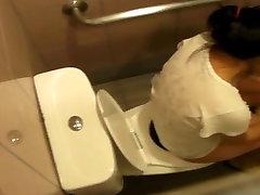 Asian teen toilet