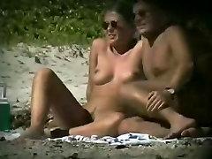voyeur on male sub fucked with toys beach