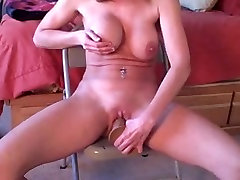 horny milf EX jammu and kashmir sex porn friend try her new toy and she loved it