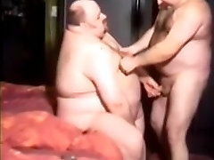 Two Sexy the bend Men Going At It